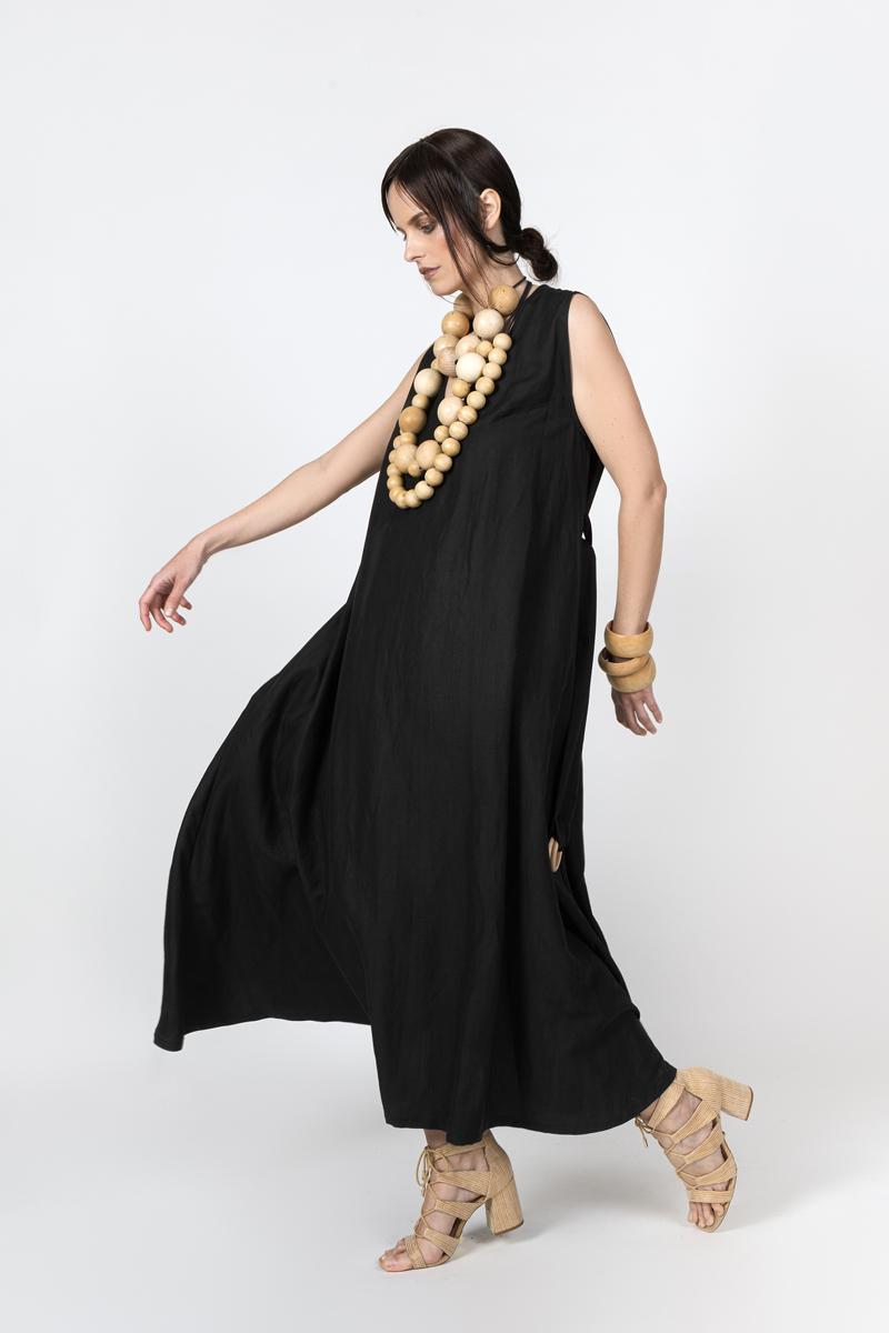 black-long-dress-side-lookbook-ss-2021-ivana-tomic