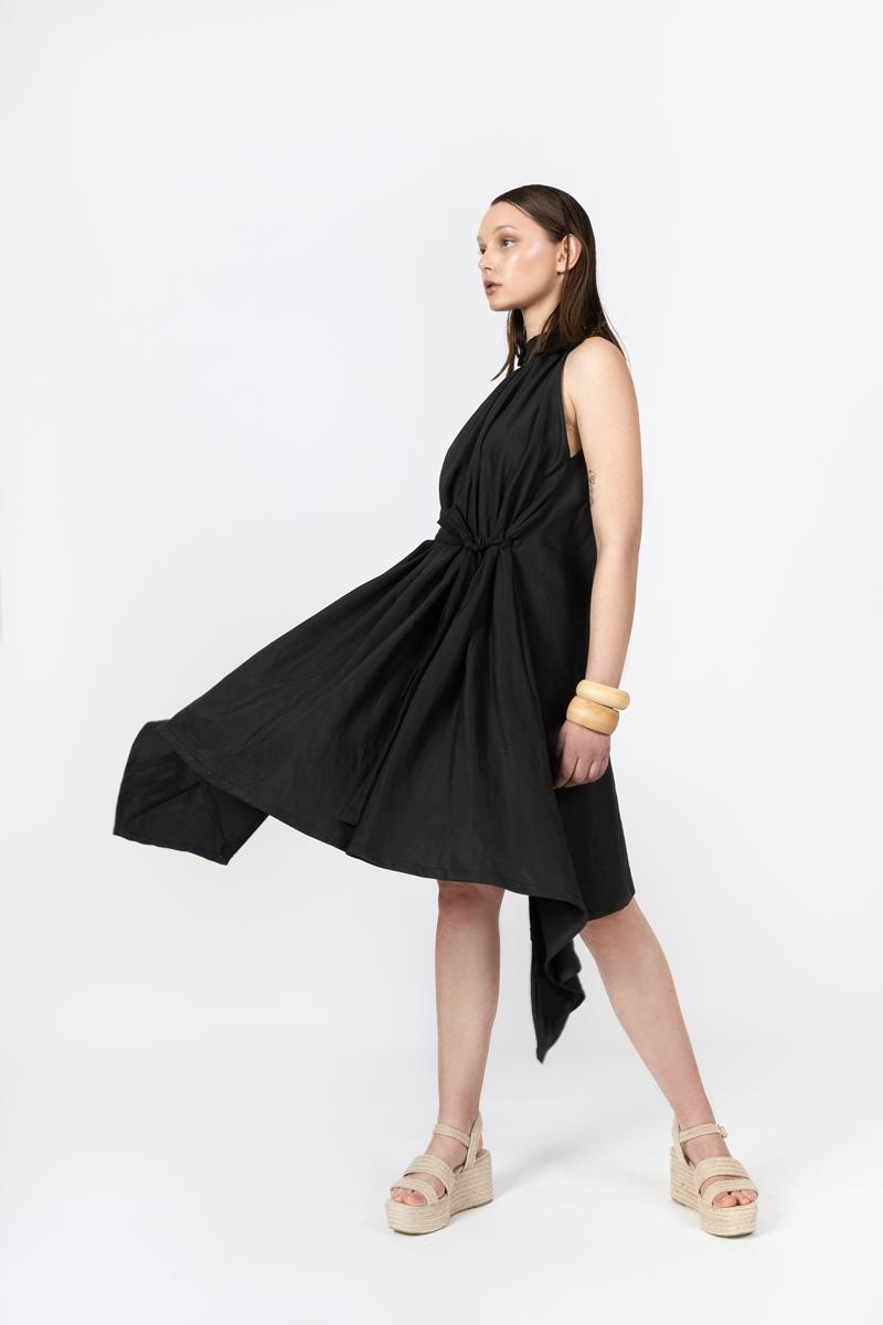 black-short-dress-side-lookbook-ss-2021-ivana-tomic
