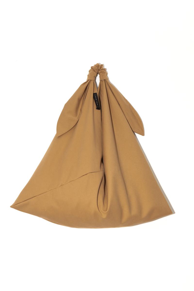 TAN ORIGAMI BAG